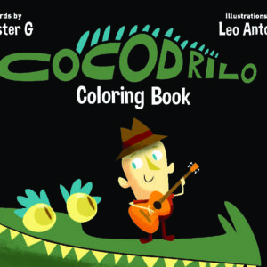 Cocodrilo Coloring Book