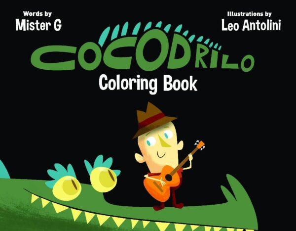 Cocodrilo Coloring Book