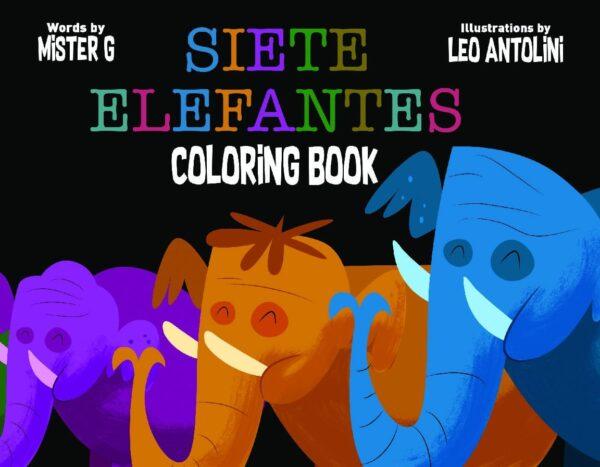 Siete Elefantes Coloring Book